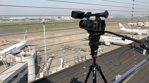 マンフロットの325N(ビデオ雲台アダプターボール)を使用しての撮影